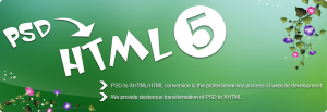 Factors To Be Taken Into Account With Your PSD to HTML5 Conversions