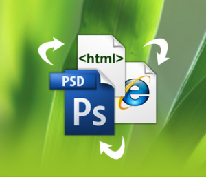 PSD to HTML conversion service from India