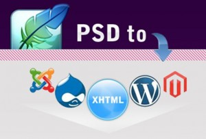 PSD to Xhtml conversion service