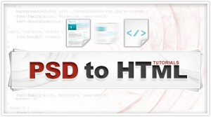 PSD to HTML tutorials