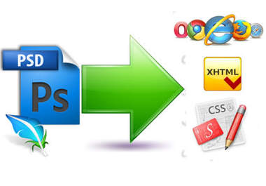 Fast and reliable PSD to XHTML/CSS conversion