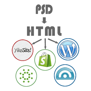 PSD to HTML, wordpress