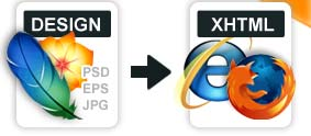 Answering the Demand for Top Quality PSD to XTML Conversion