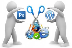 Photoshop to wordpress conversion