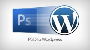 Convert your PSD to wordpress
