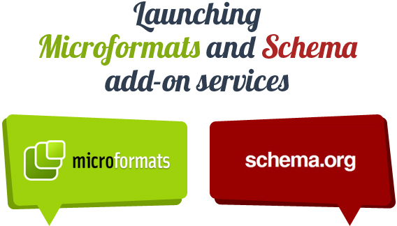 Launching microformats and scheme add-on services