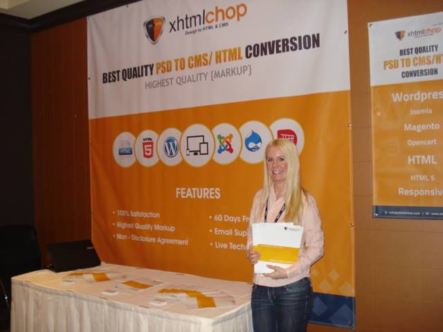Xchop in CMS expo