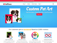 shopify Demo ilovepaws